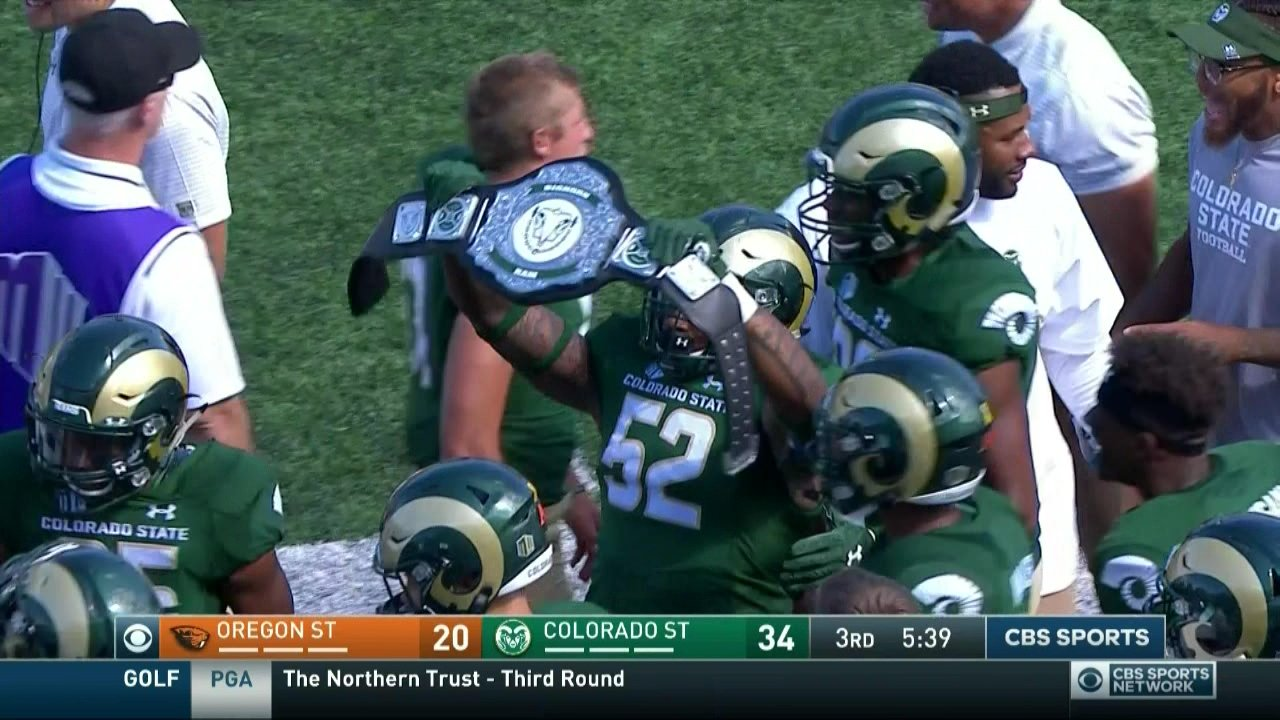 Oregon State gets pounded by Colorado State in opener