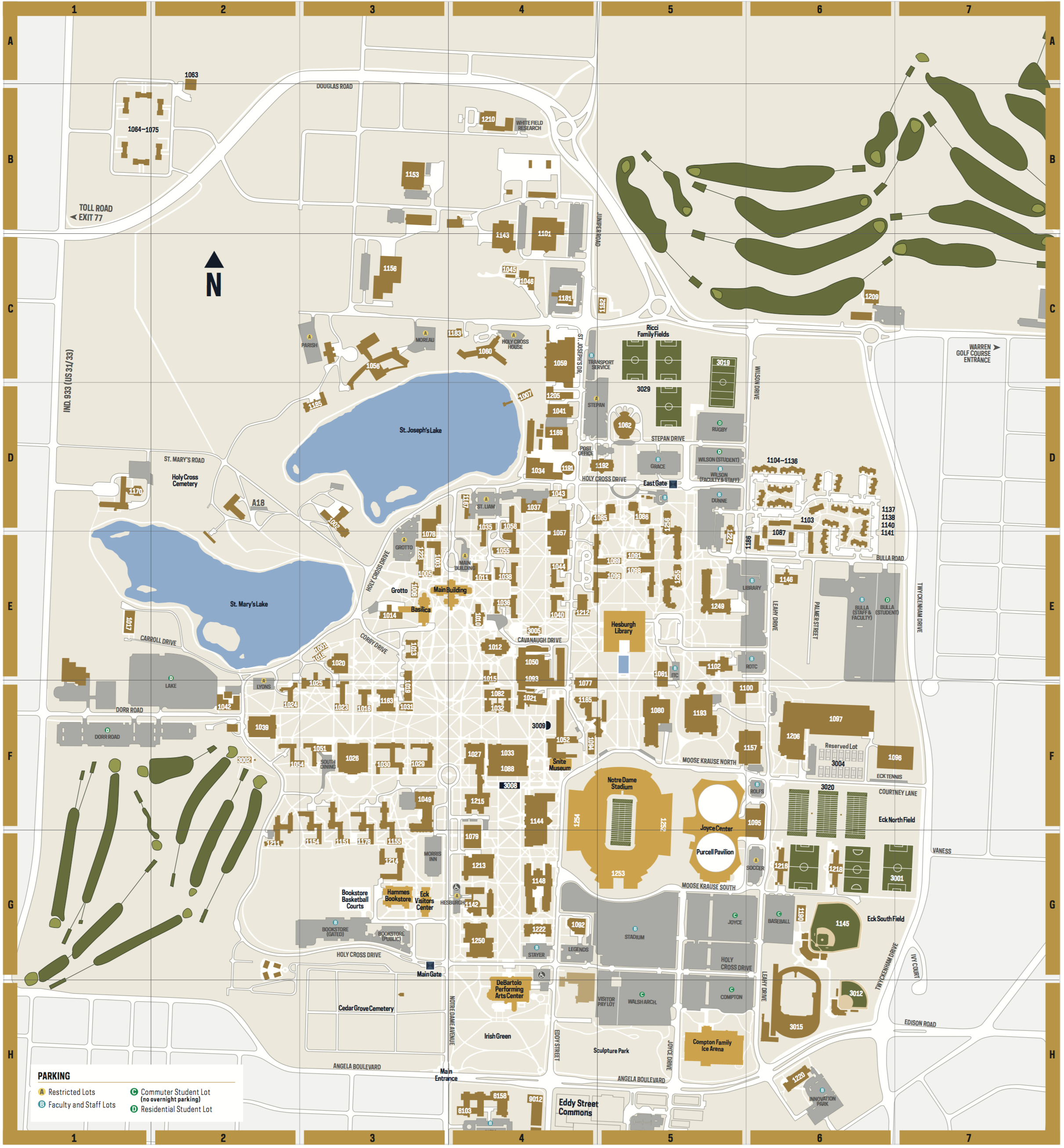 Auburn University Campus Map New Jersey Map