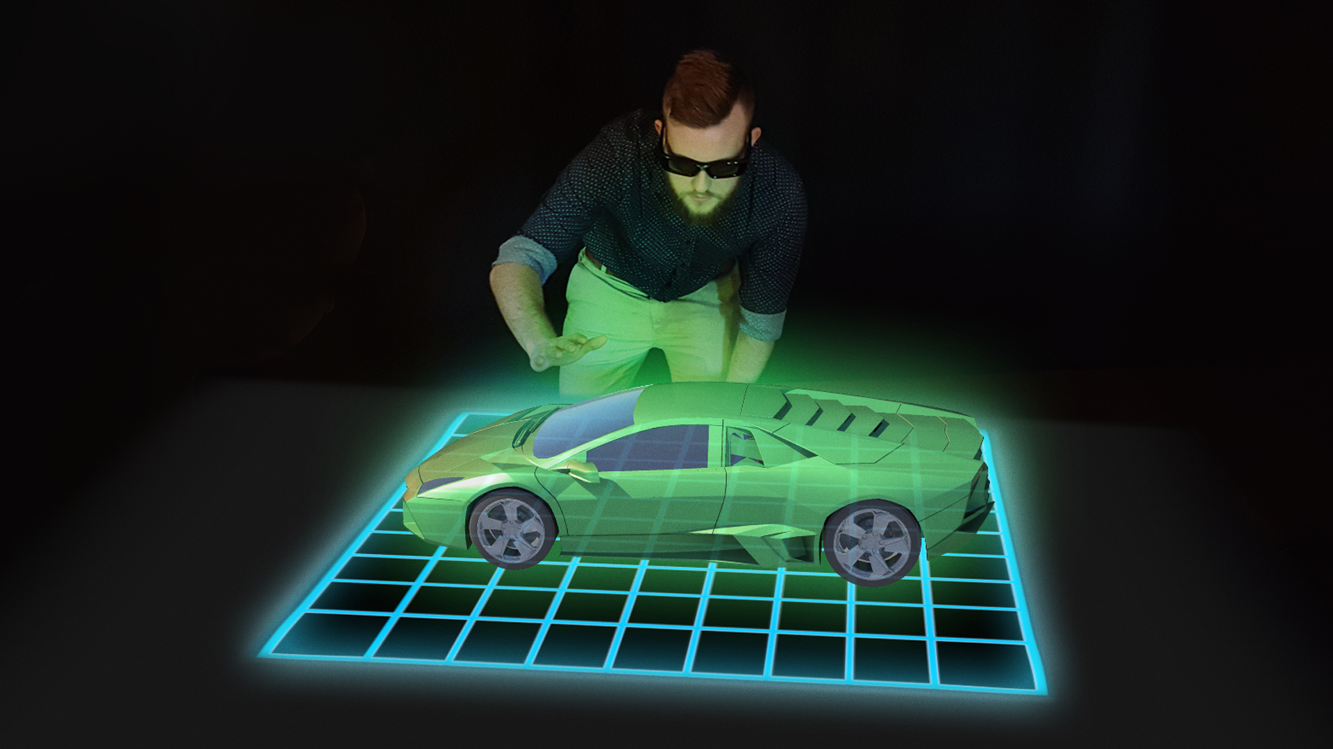 Multi User Hologram Table Will Set You Back 47 000 Curbed