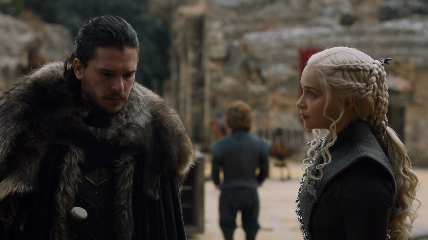 The Game of Game of Thrones: season 7, episode 7, The Wolf and the Dragon