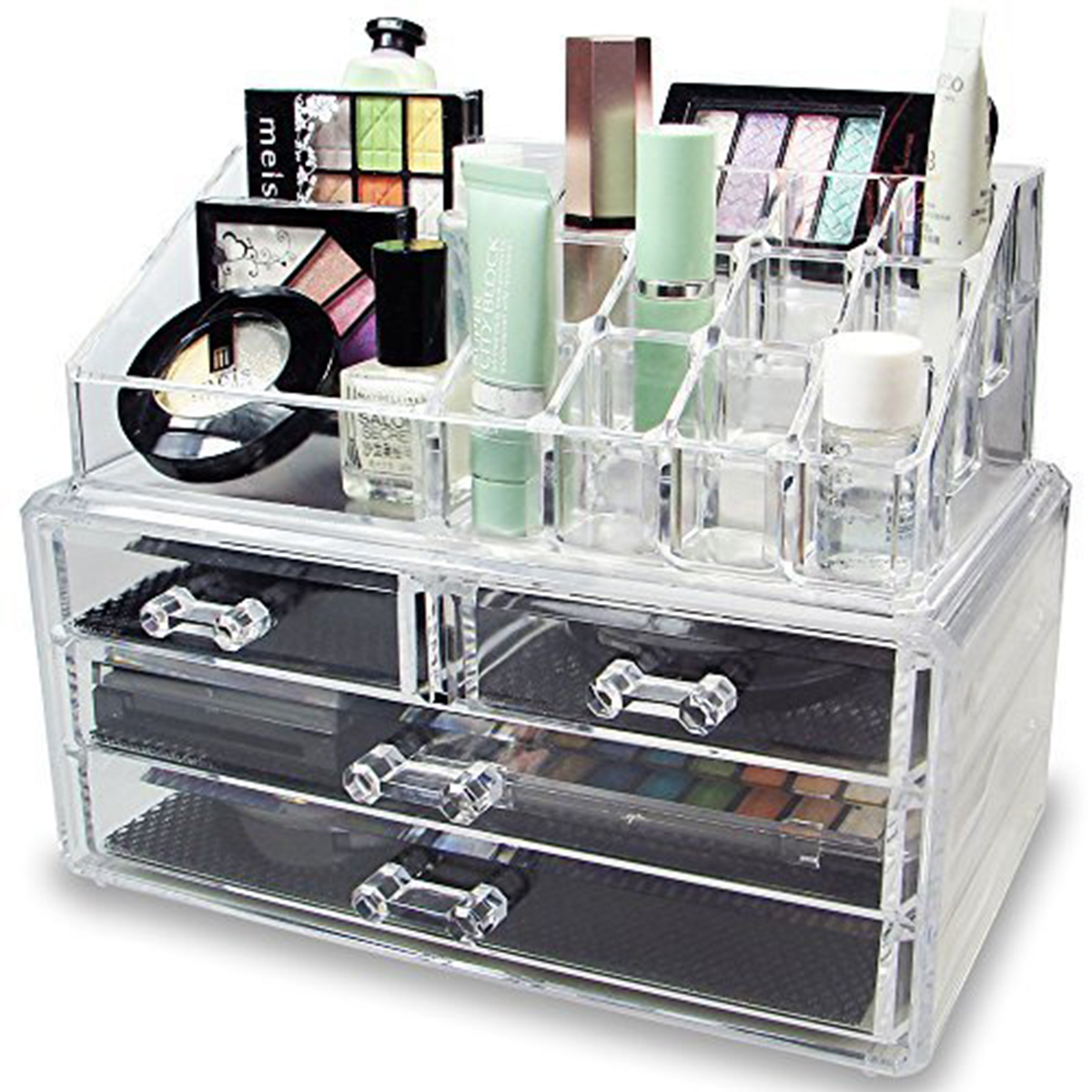Design Makeup Organizers a totally pragmatic guide to the best makeup organizers racked sure storing your brushes in an old diptyque baies candle is cute but its not necessary have pinterest level creativity a