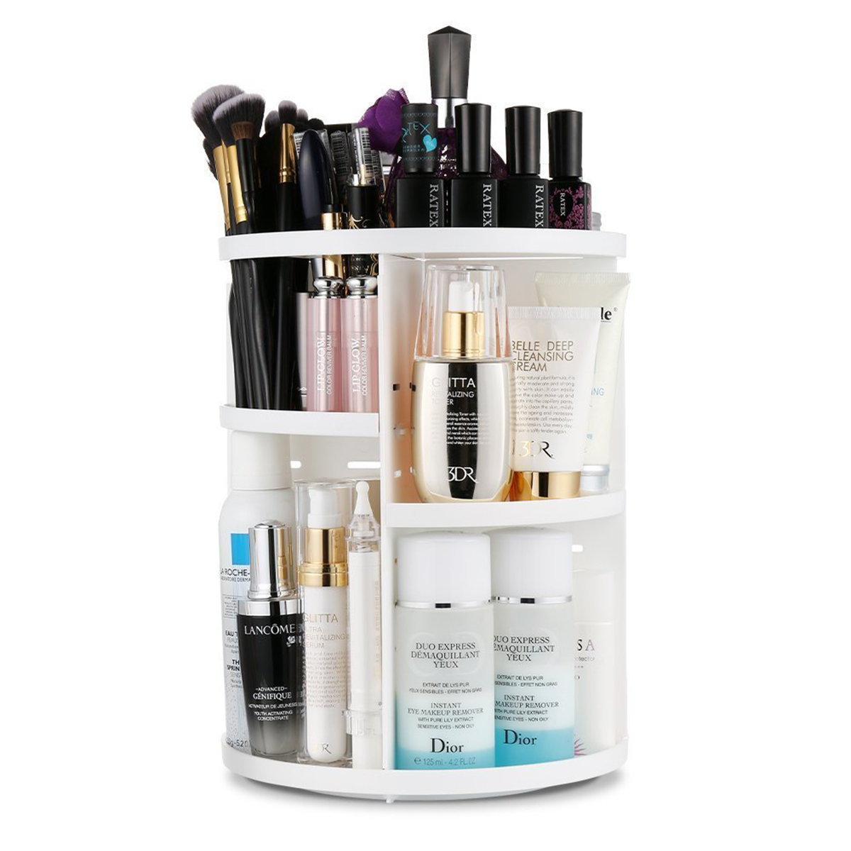 A Totally Pragmatic Guide To The Best Makeup Organizers