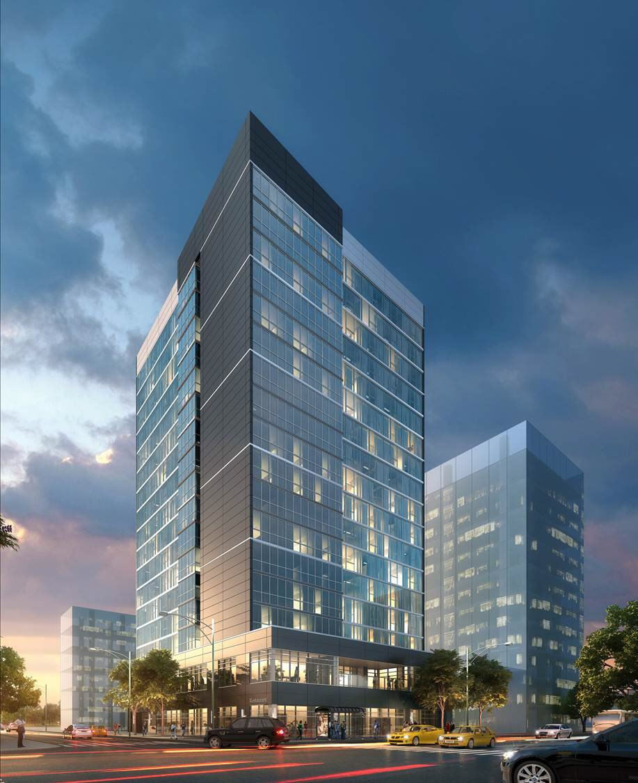 Glassy High Rise Hotel Cleared To Begin Construction In