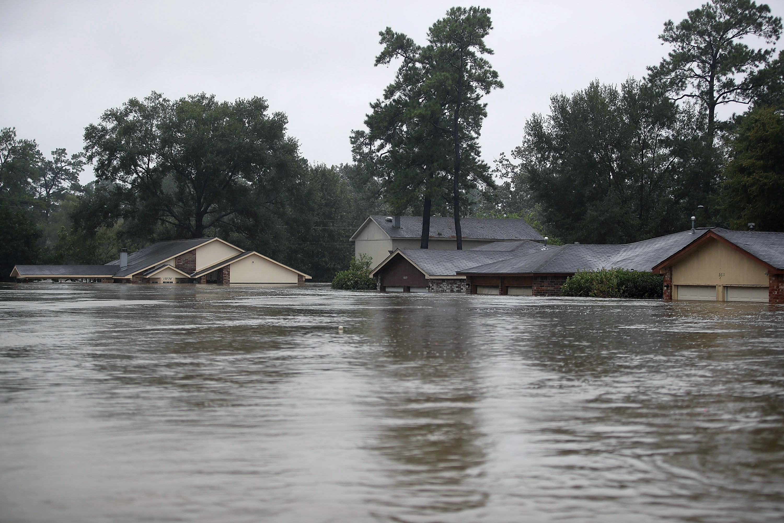 Photos: what Houston's catastrophic floods look like from ...