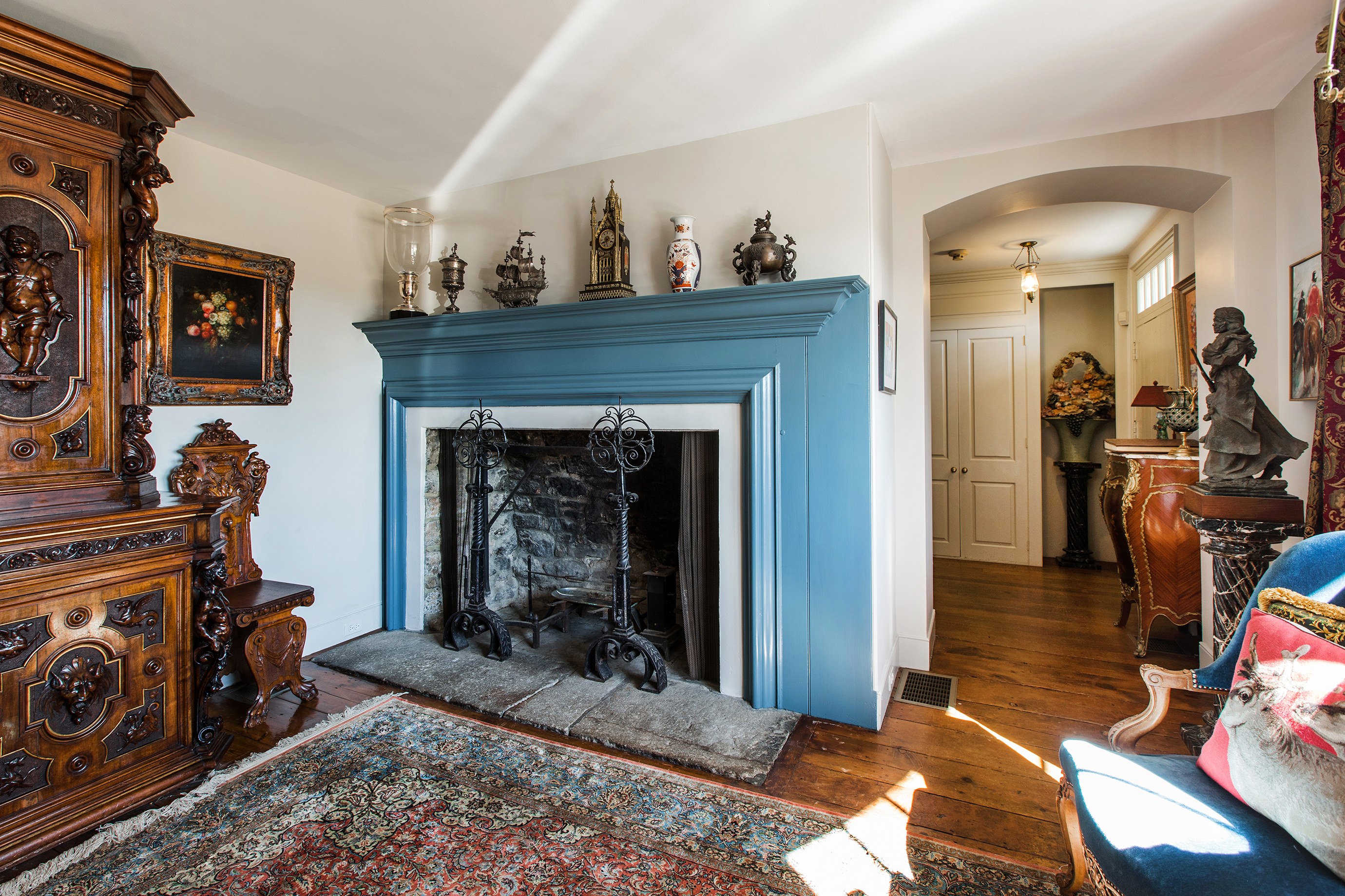 17th century estate in new hope on 75 acres asks 10m curbed philly