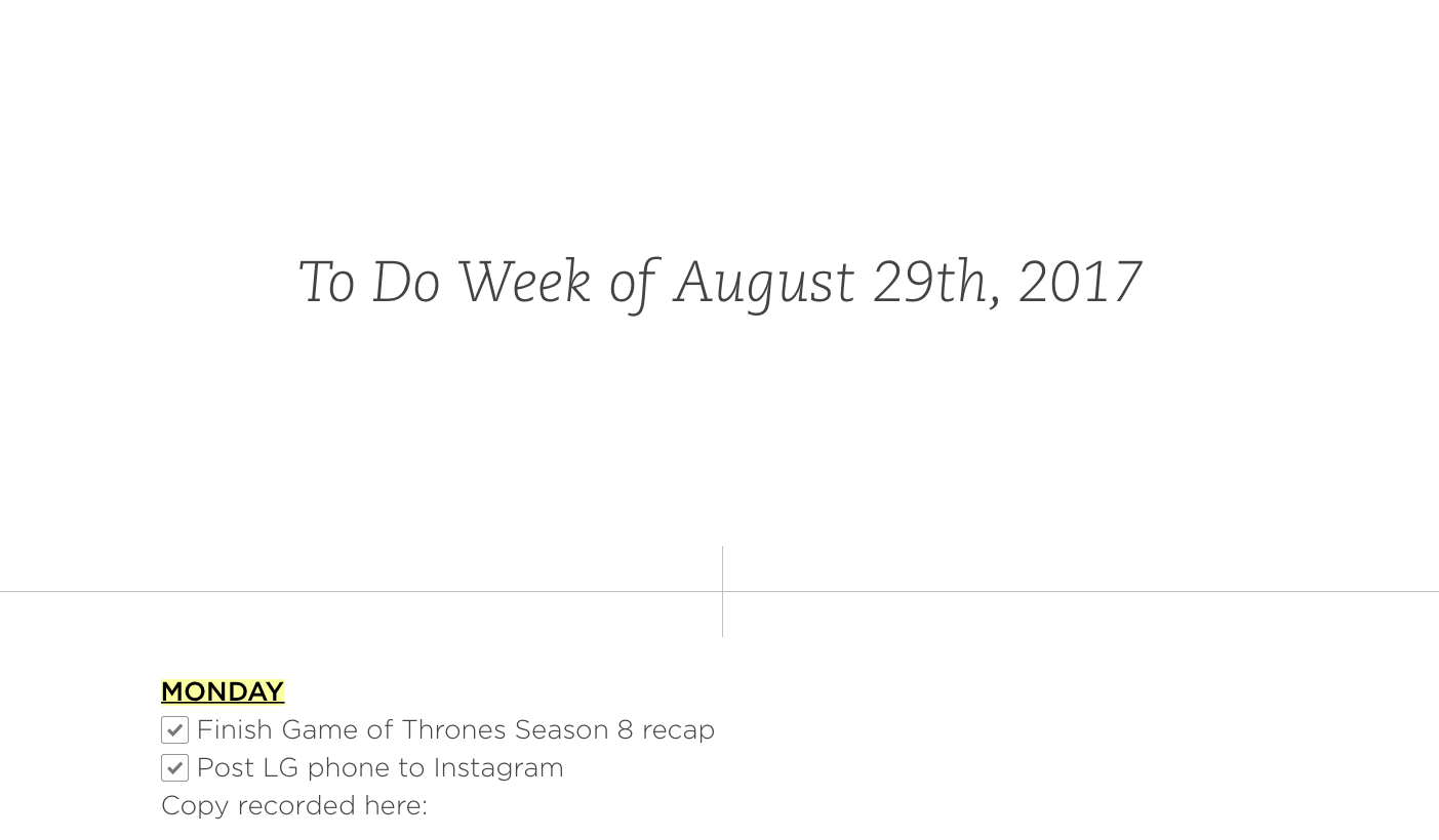 Evernote how to use the app to its fullest the verge finally if you put together a big presentation or plan inside of a note you can actually present it by entering presentation mode magicingreecefo Gallery