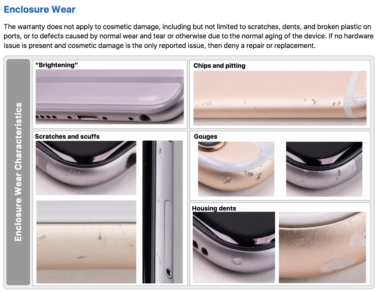 apple leak shows how it decides to repair or replace iphones the