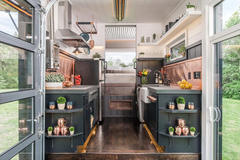 'Escher' tiny house raises the bar for luxury small living
