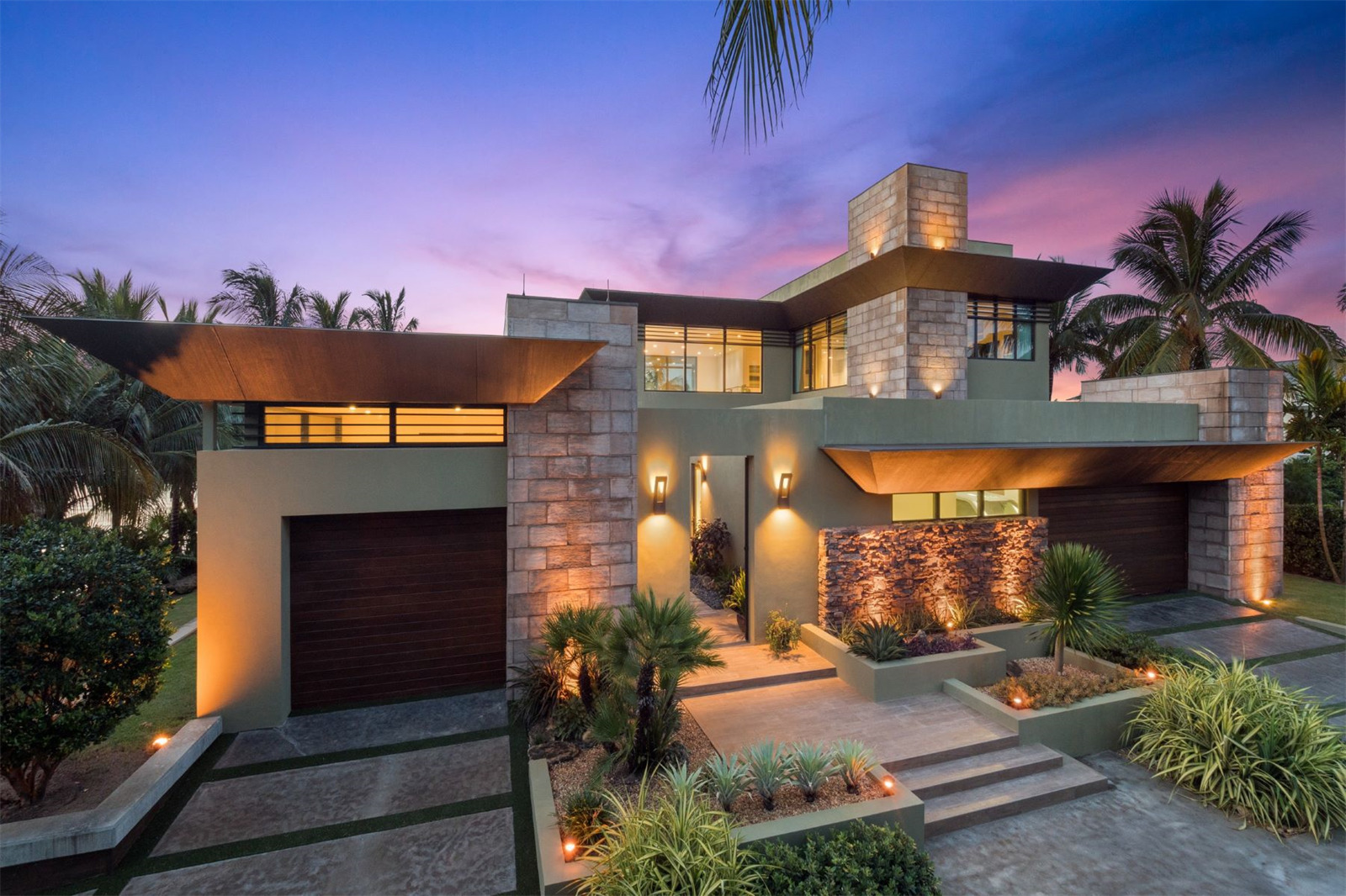 Frank Lloyd Wright Inspired Home In Jupiter Asks 12m
