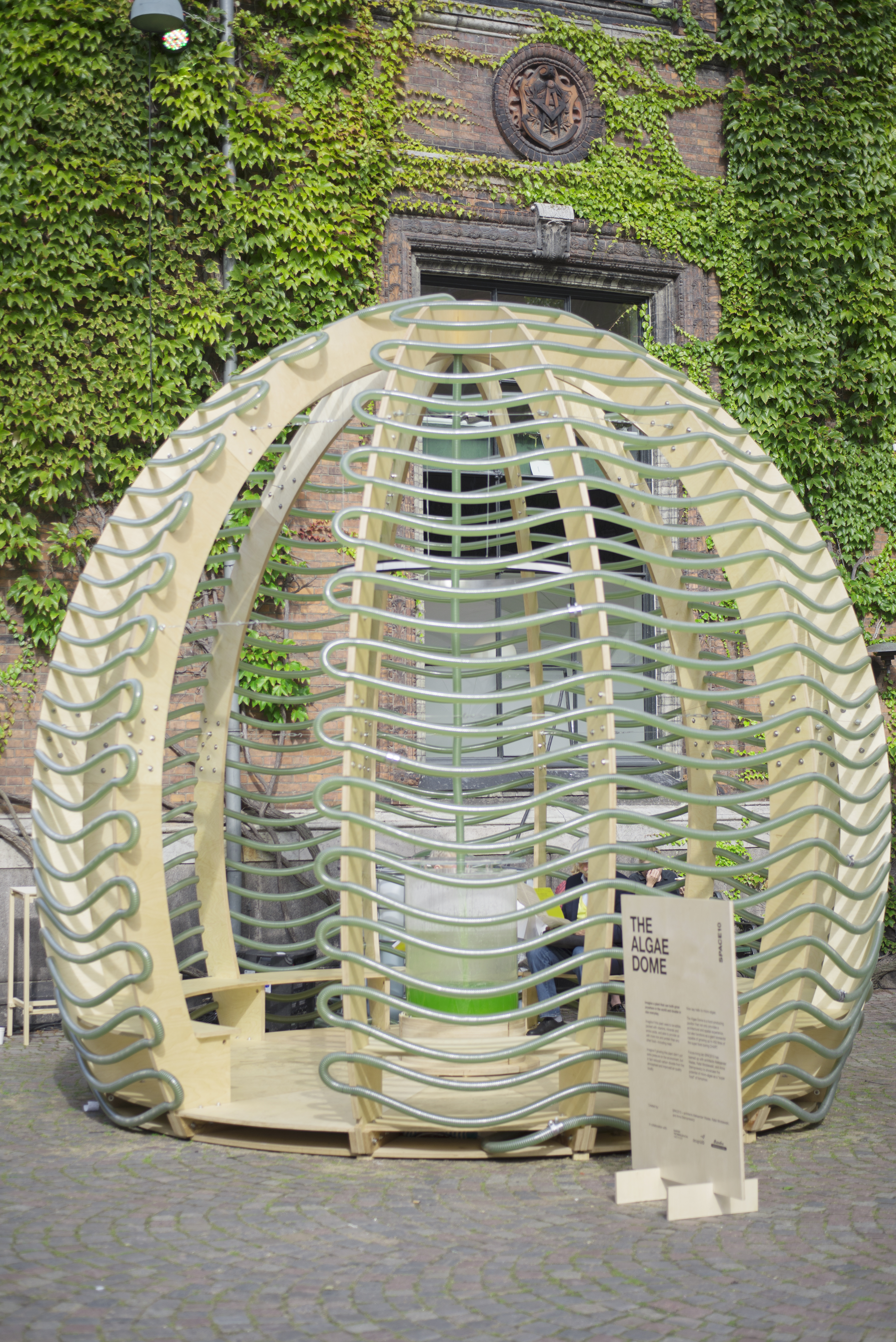 Ikea's Space10 develops the Algae Dome, a prototype for food-producing architecture
