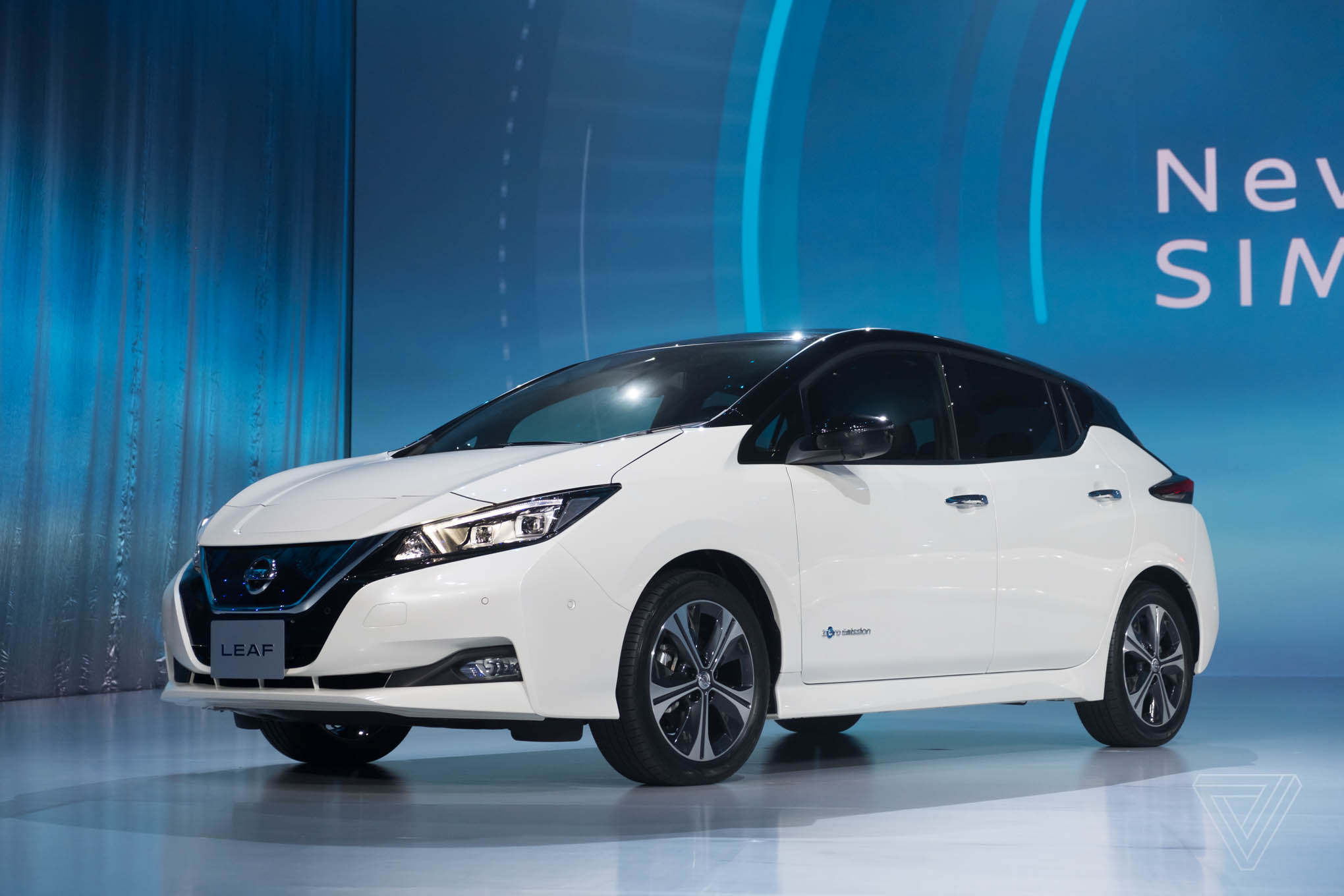 2018 nissan leaf colors. plain leaf 2018 nissan leaf and colors