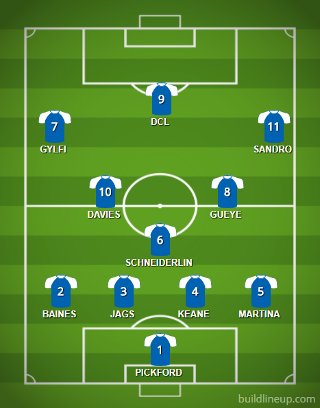 Everton_lineup_spurs