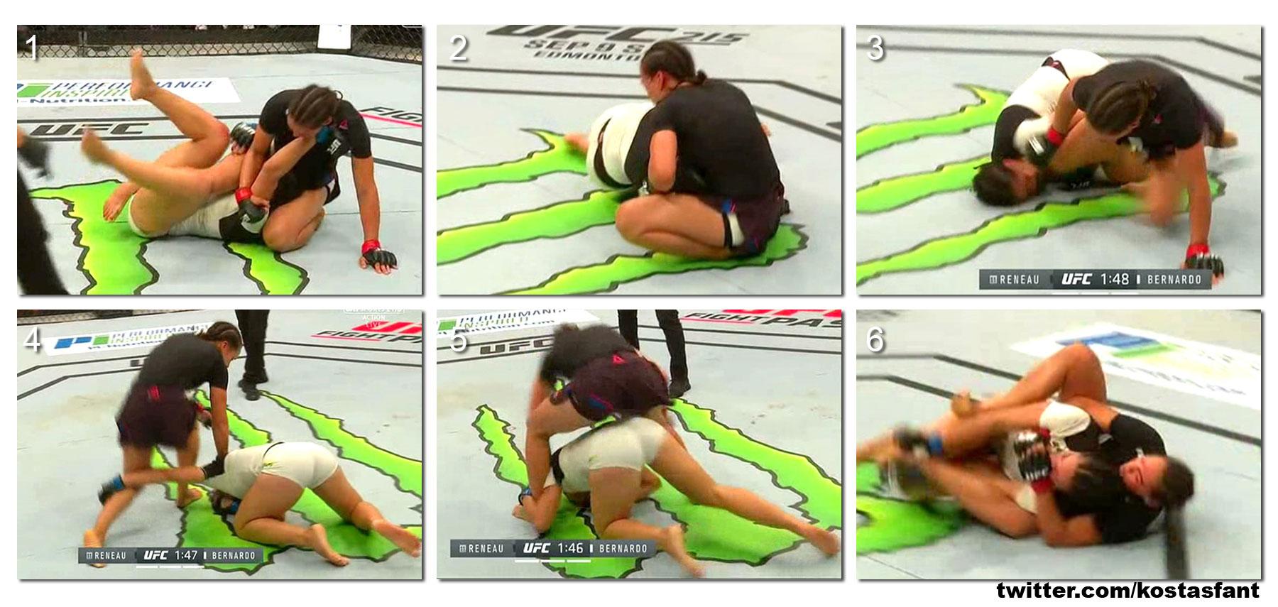 Marion Reneau vs Talita Bernardo