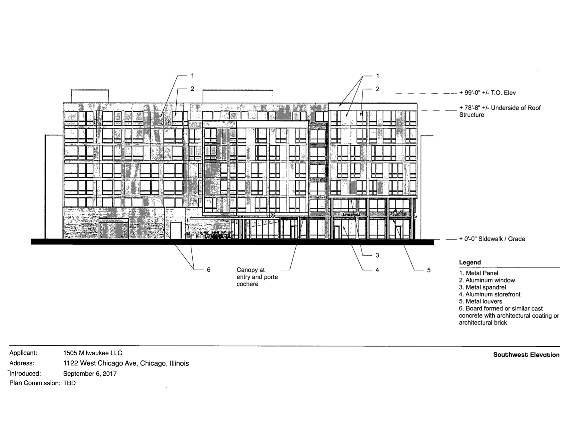new apartments proposed for the corner of chicago and milwaukee