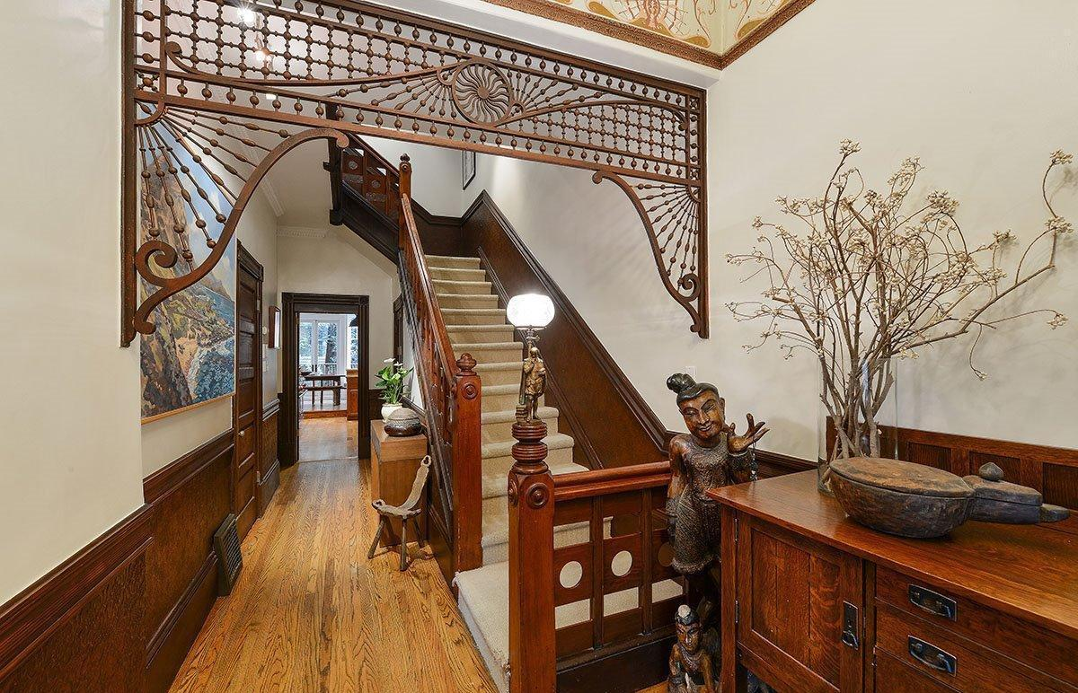 Foyer Ceiling Queen : Haight ashbury queen anne victorian asks million