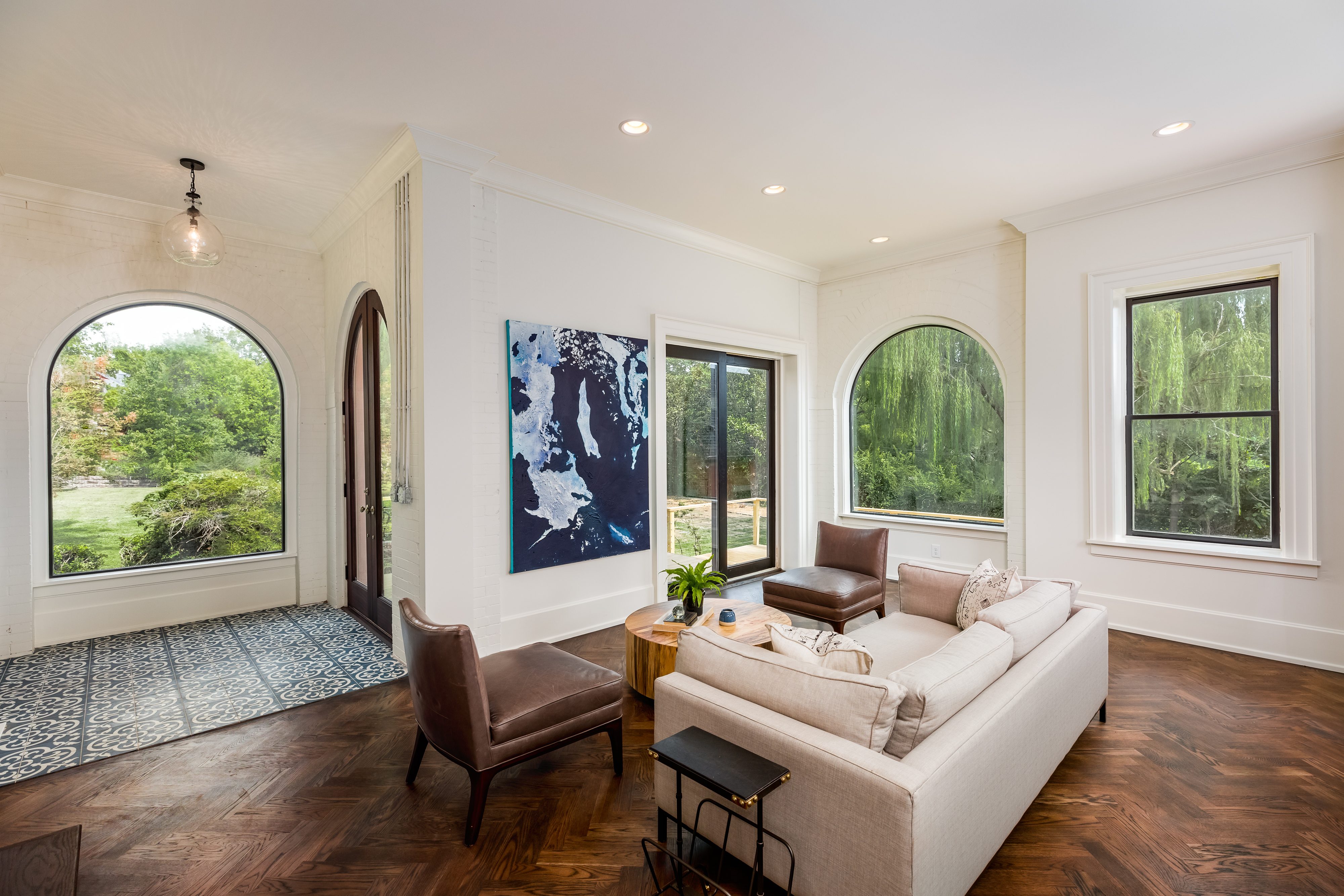 a three car garage manicured lawns and a japanese maple garden round out the property located at 714 russell street and overlooking east park with