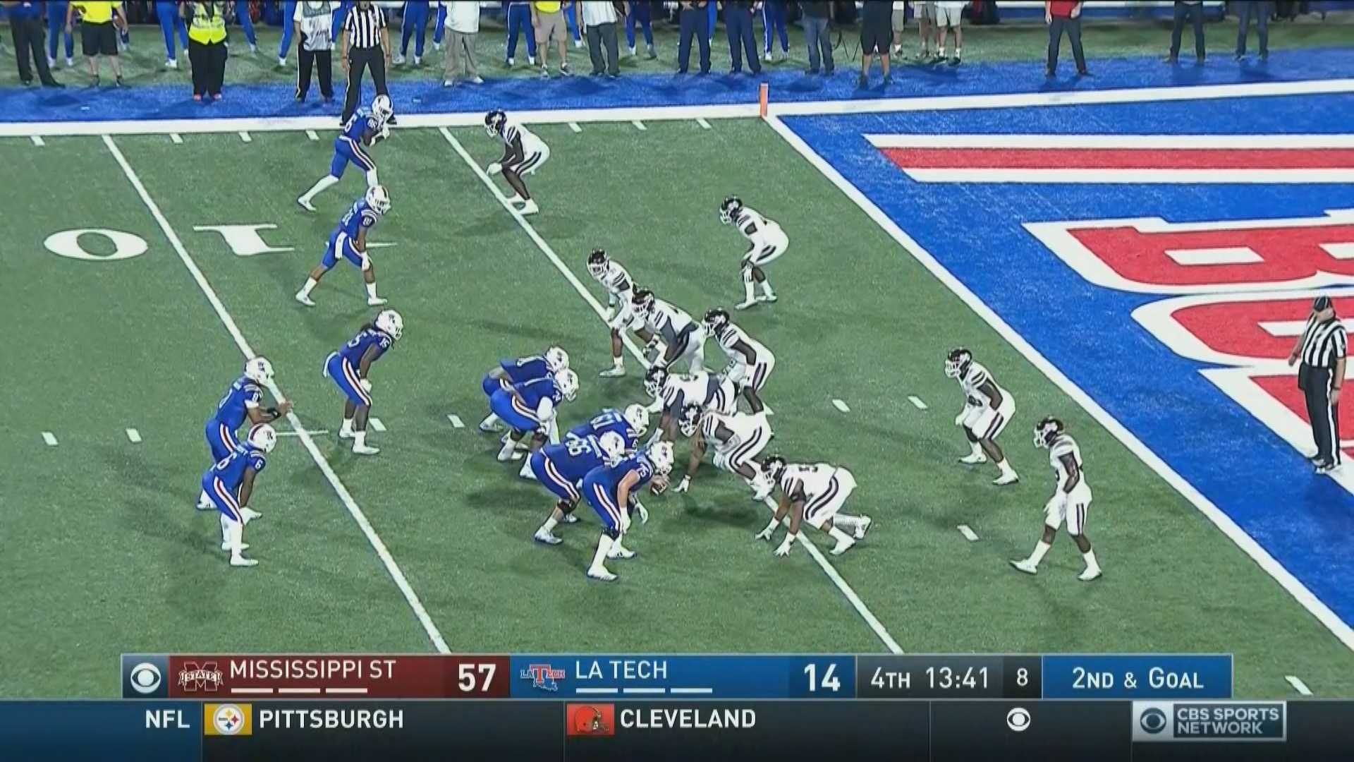 Louisiana Tech Faces Third And…93