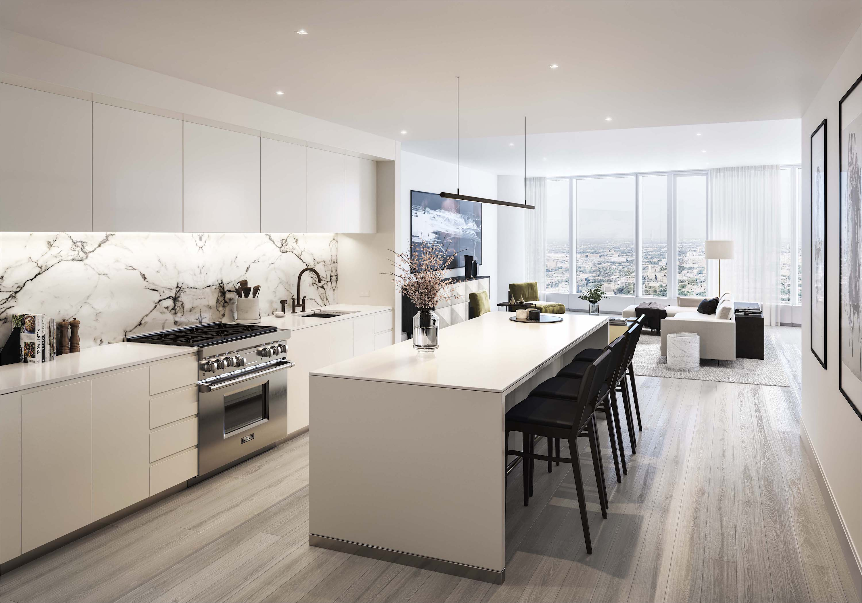 a first look at the kara mann-designed interiors for 1000m