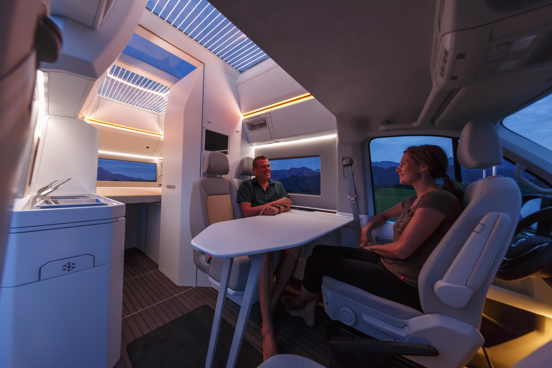 New Volkswagen concept van boasts panoramic roof for stargazing