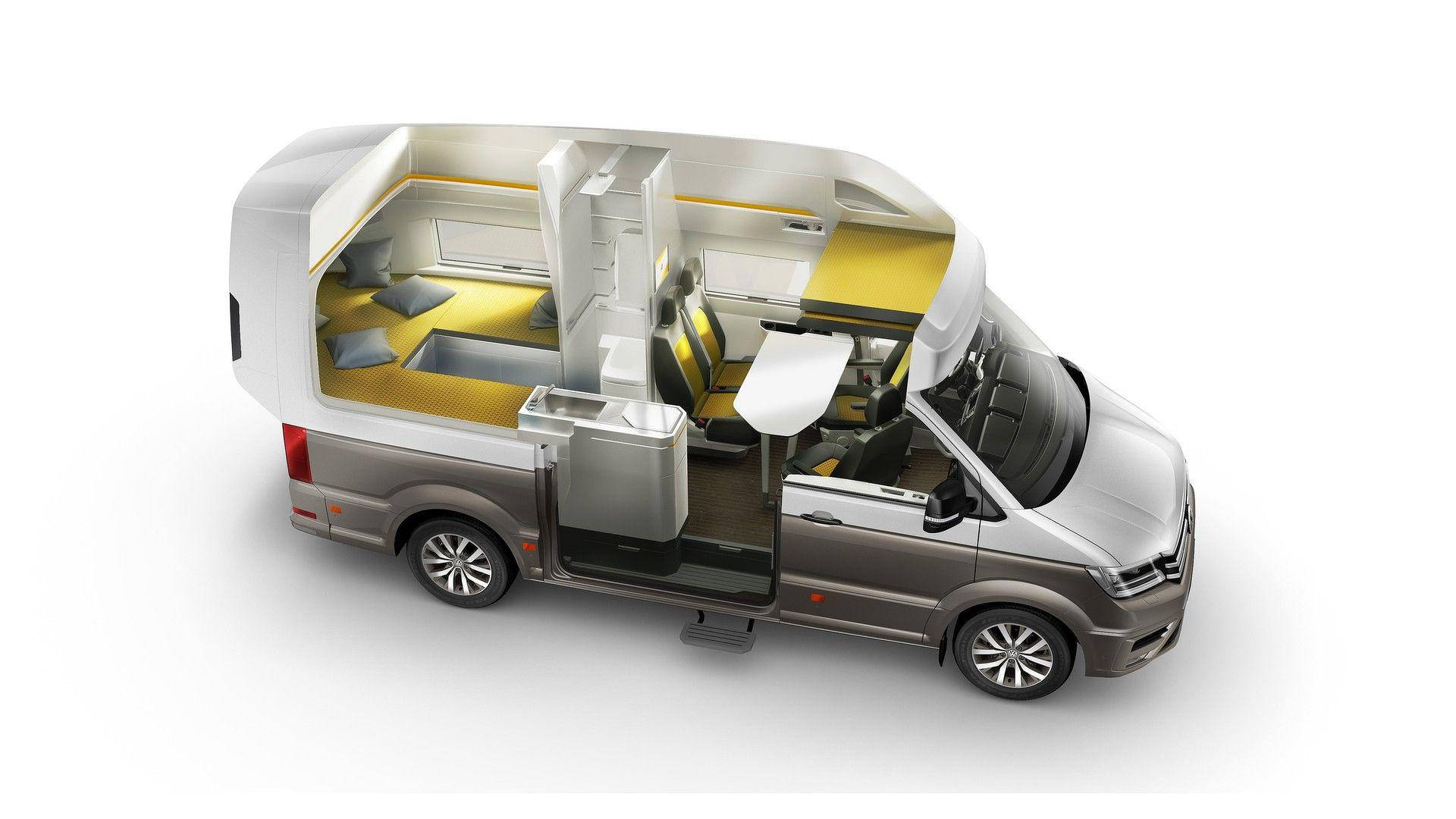 Volkswagen California XXL Boasts Panoramic Roof For Stargazing - Volkswagen in california