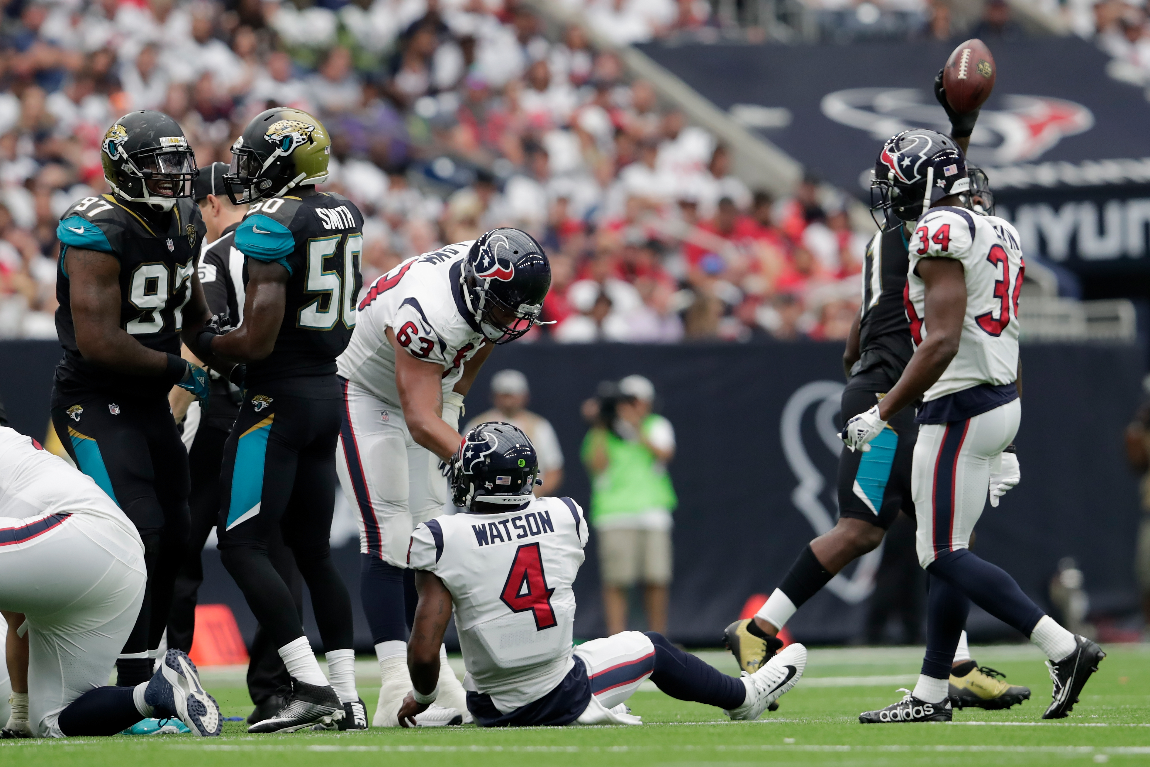 Calais Campbell played every spot on the Jaguars defensive line