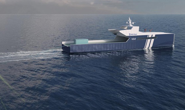 Rolls Royce Has Plans For An Autonomous Naval Ship The Verge