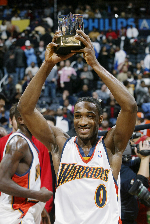 Golden Moment Jason Richardson wins back to back NBA Slam Dunk