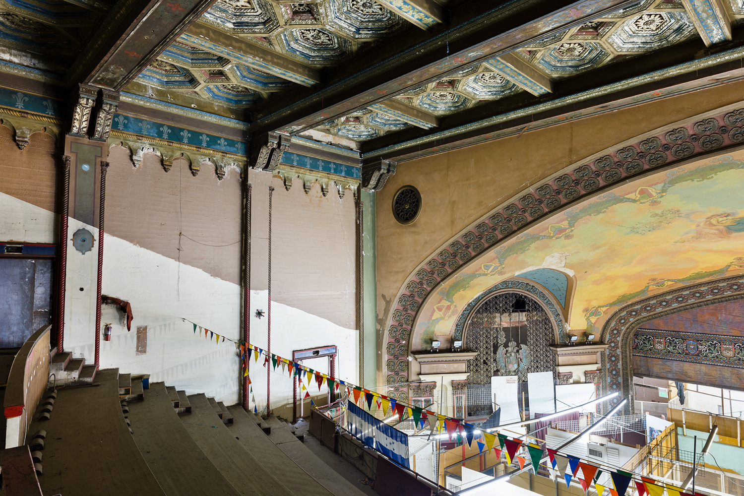 westlake theater photos inside the historic space before