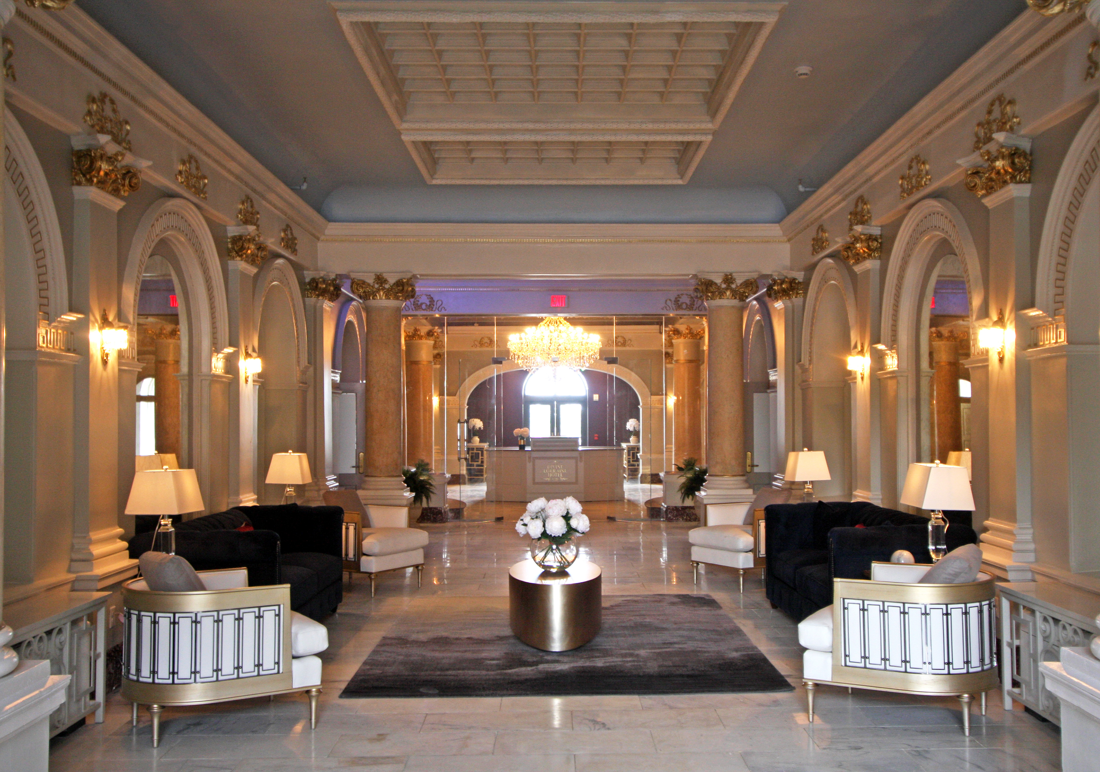 Exclusive: The Divine Lorraine lobby restored, in before-after ...