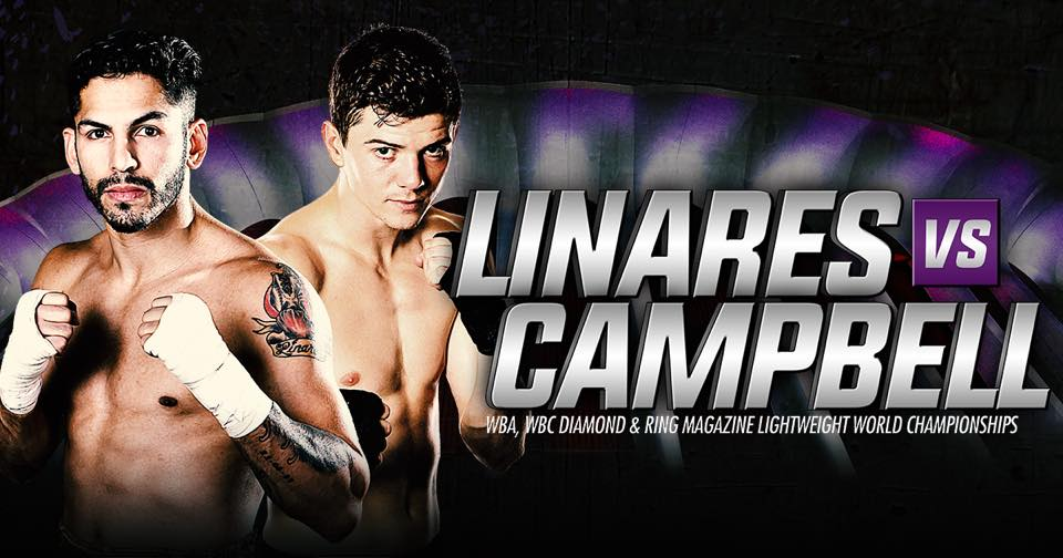 Image result for Jorge Linares vs Luke Campbell fight pic