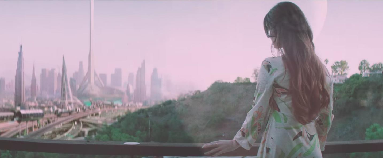 Lana Del Reys White Mustang Turns LA Into A Retro