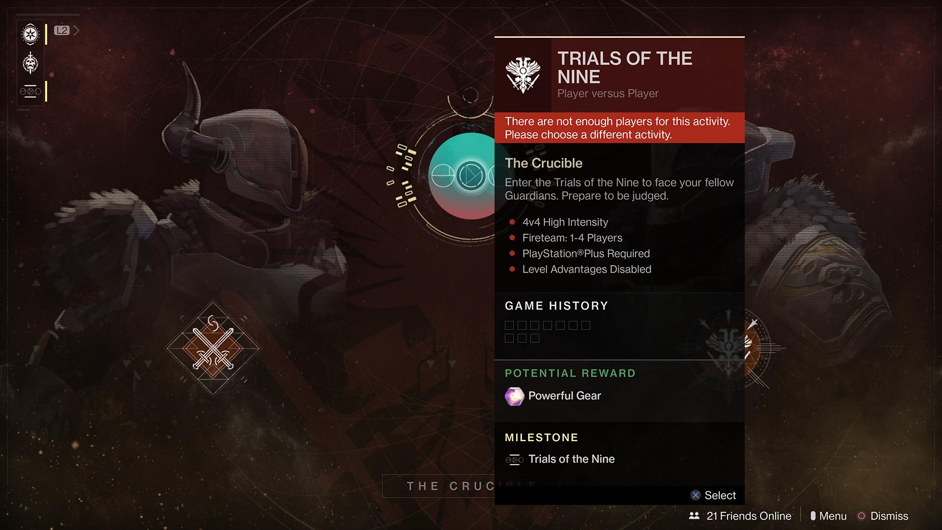 destiny 2 how to delete trials card