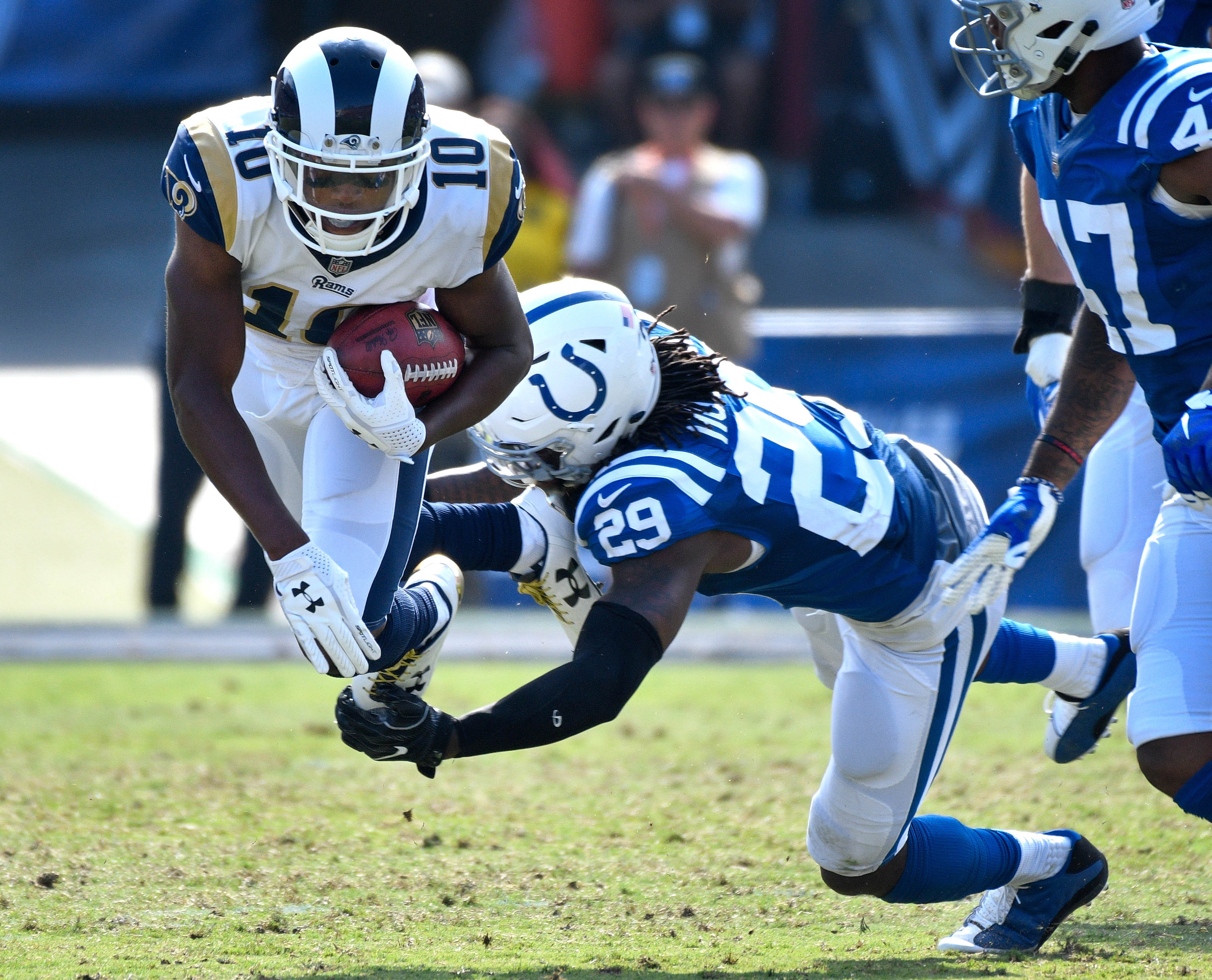 NFL: Indianapolis Colts at Los Angeles Rams