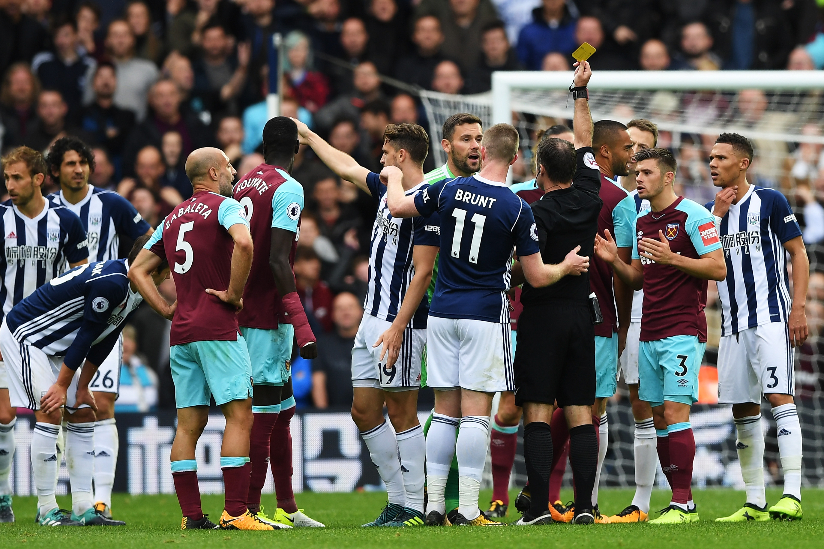 Fortune favours West Brom in Hammers stalemate
