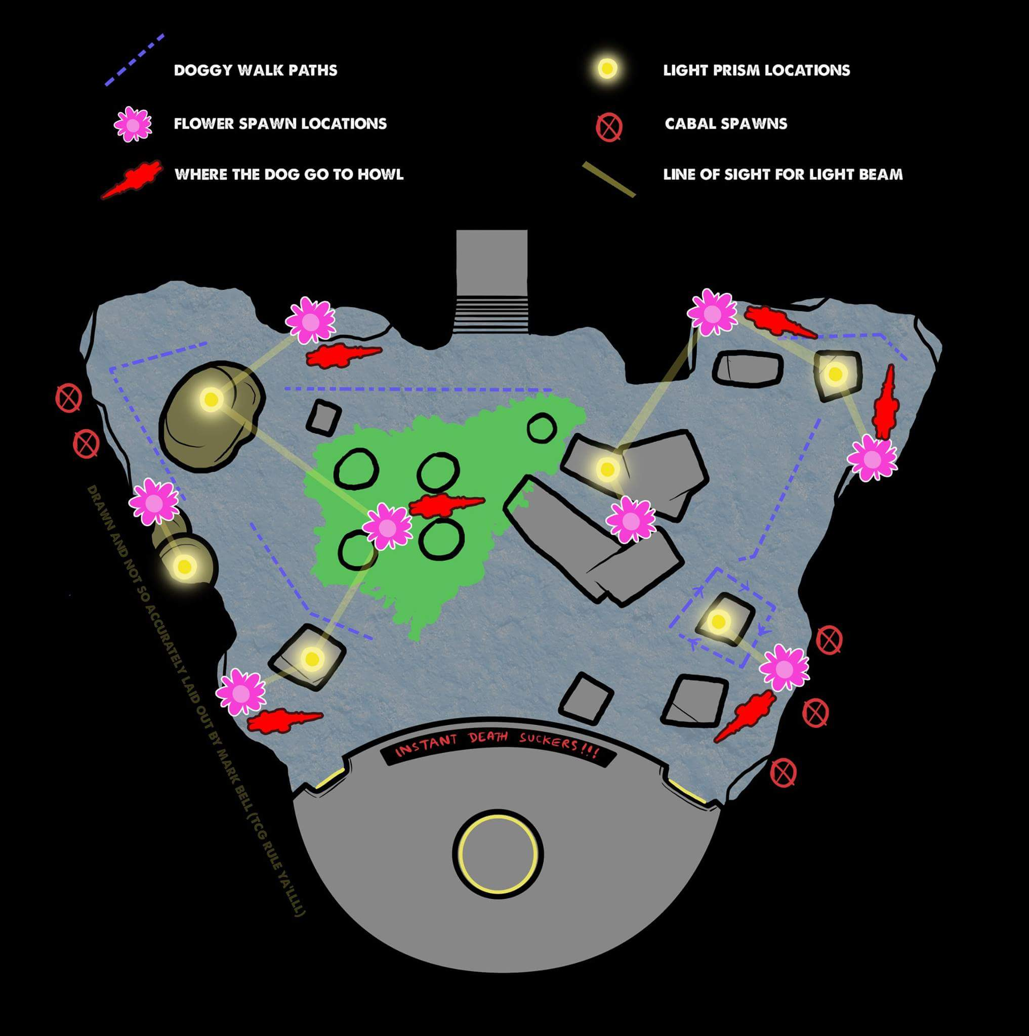 Dogs Pattern Map Destiny