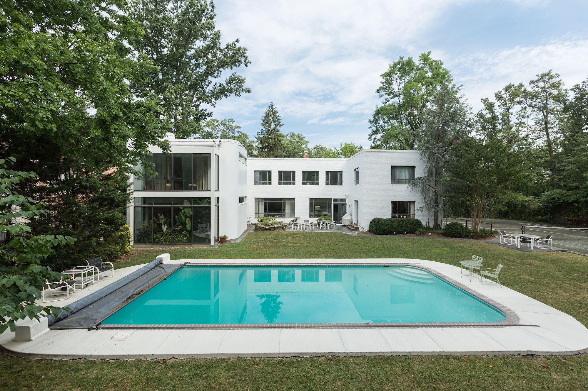 modern multi million dollar wesley heights home may get razed