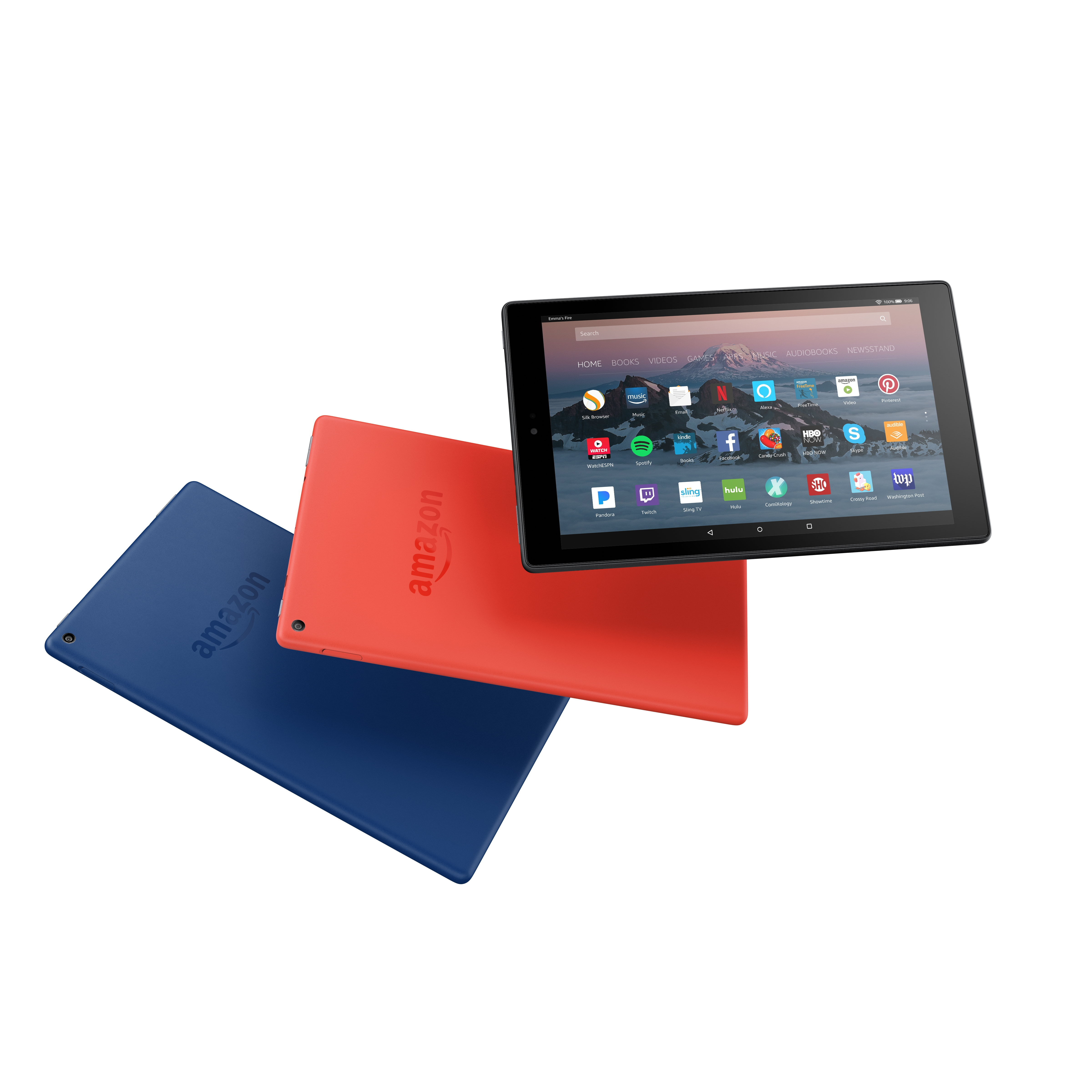 amazon updates the fire hd 10 tablet with a 1080p display and a much lower price the verge. Black Bedroom Furniture Sets. Home Design Ideas