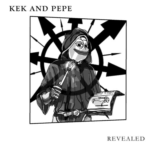 """Tim Gionet a.k.a. Baked Alaska's book about alt-right memes credits the creation of Pepe to """"Matt Furey."""""""