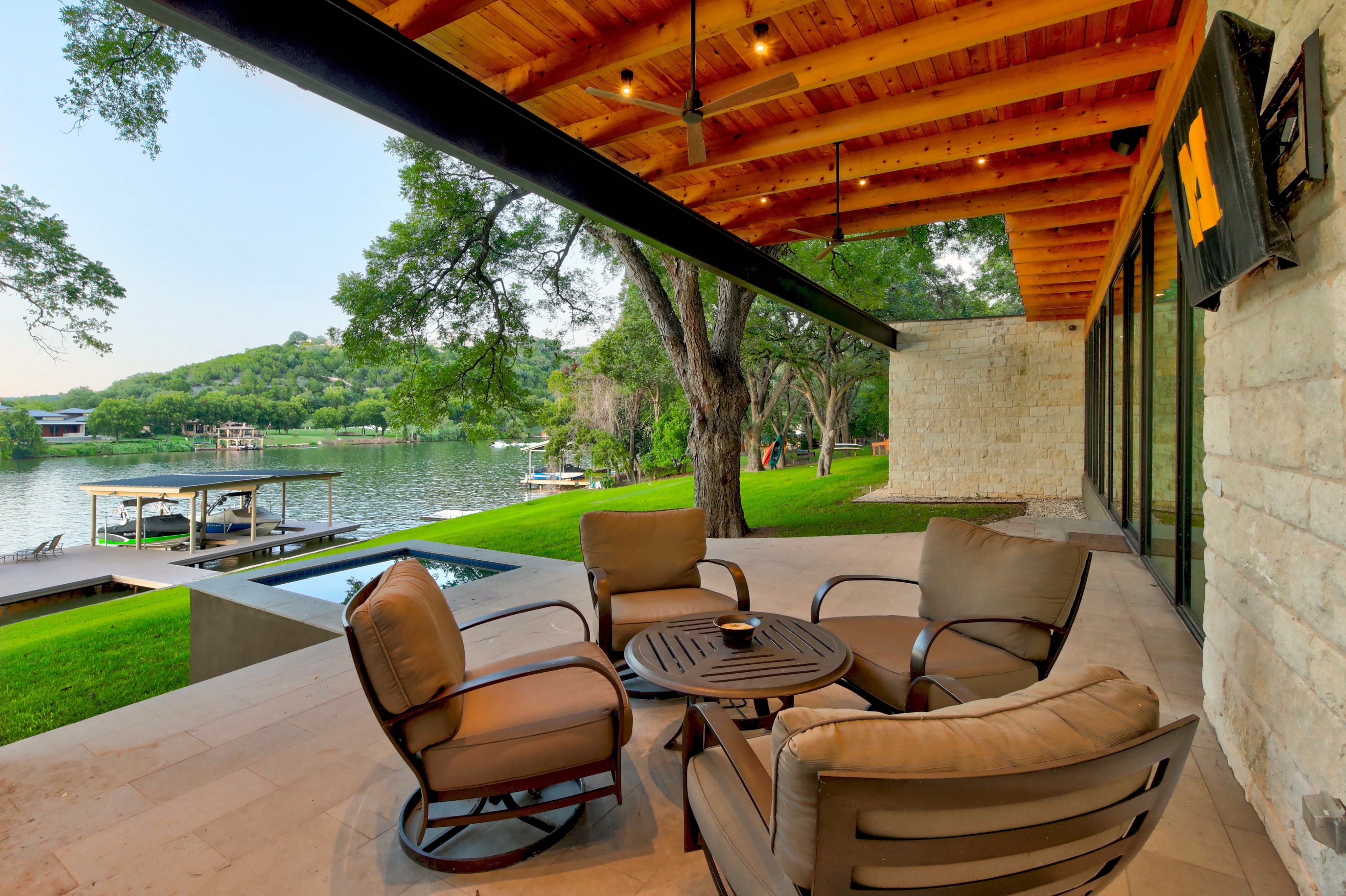 waterfront lake austin contemporary asks 5 3m curbed austin