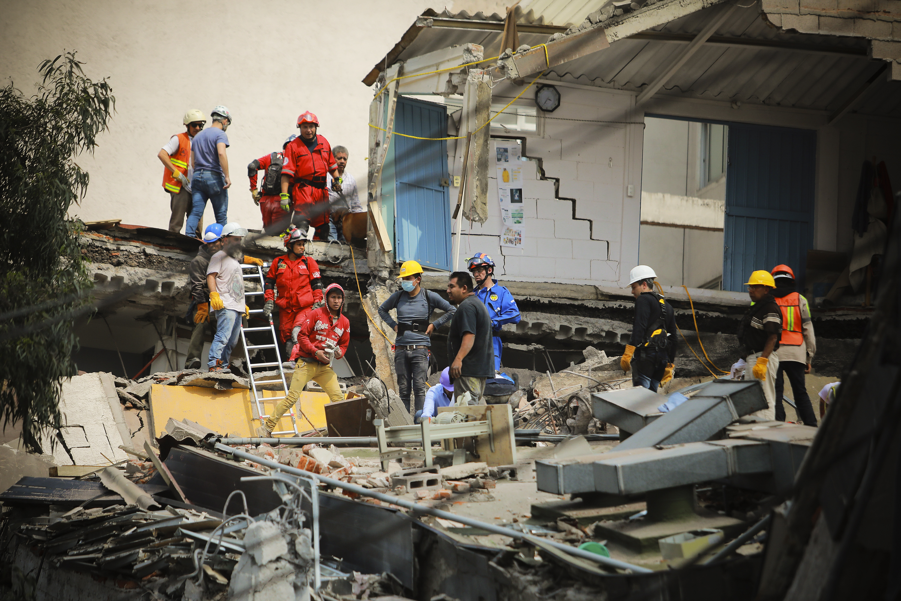 photos the aftermath of the mexico city earthquake vox
