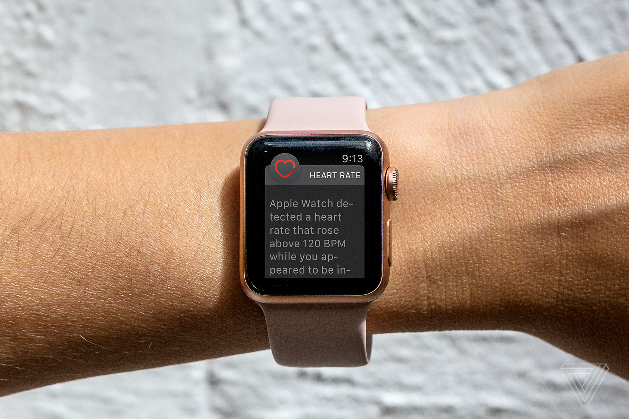 apple watch heart rate monitor simulated screen