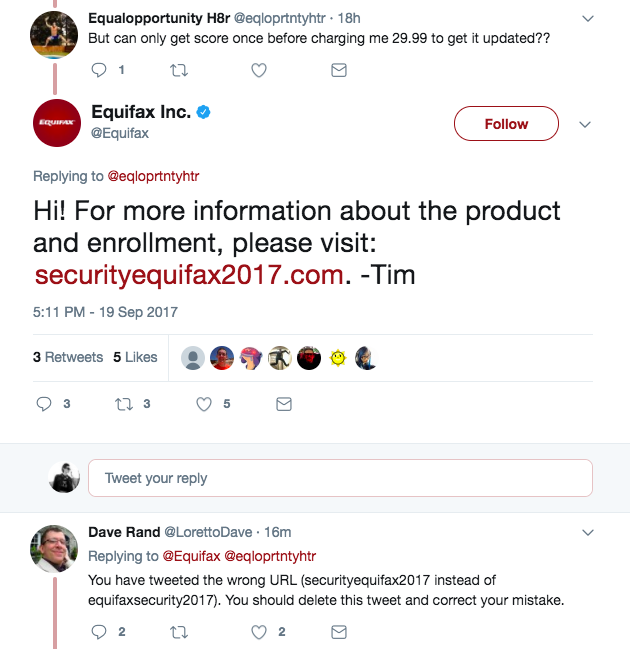 Equifax Phishing Scams: Company Customer Service Sends Victim To Fake Website