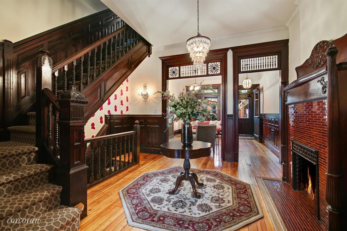 ornate prospect heights townhouse with lush backyard seeks 3 5m