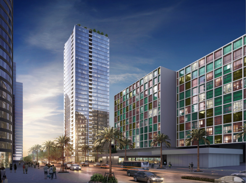Huge Koreatown project with two towers moving forward