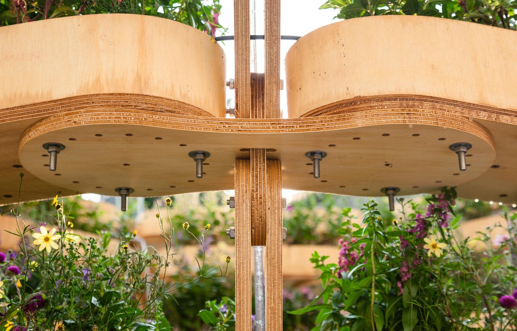 Modular de la jardinería urbana sistema se pueden crear todo tipo de macetas - Frenó 2