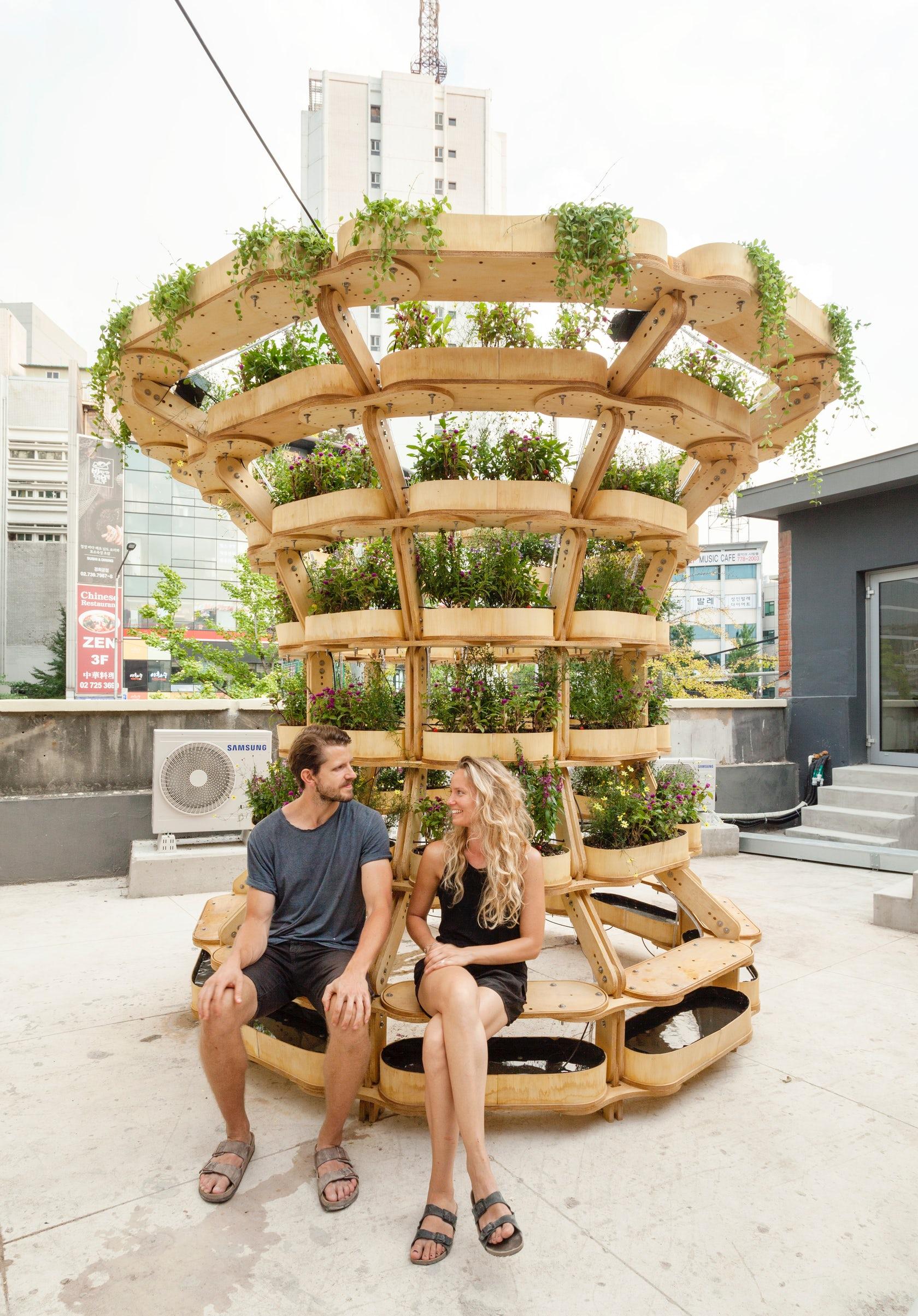 Modular de la jardinería urbana sistema se pueden crear todo tipo de macetas - Frenó 3
