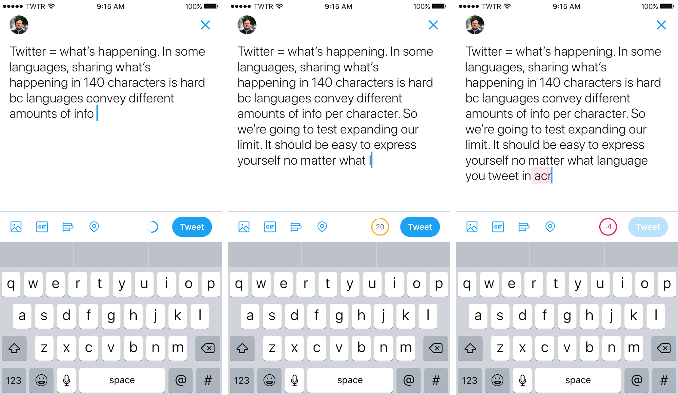 Twitter just doubled the character limit for tweets to 280 the verge we understand since many of you have been tweeting for years there may be an emotional attachment to 140 characters we felt it too the company said buycottarizona