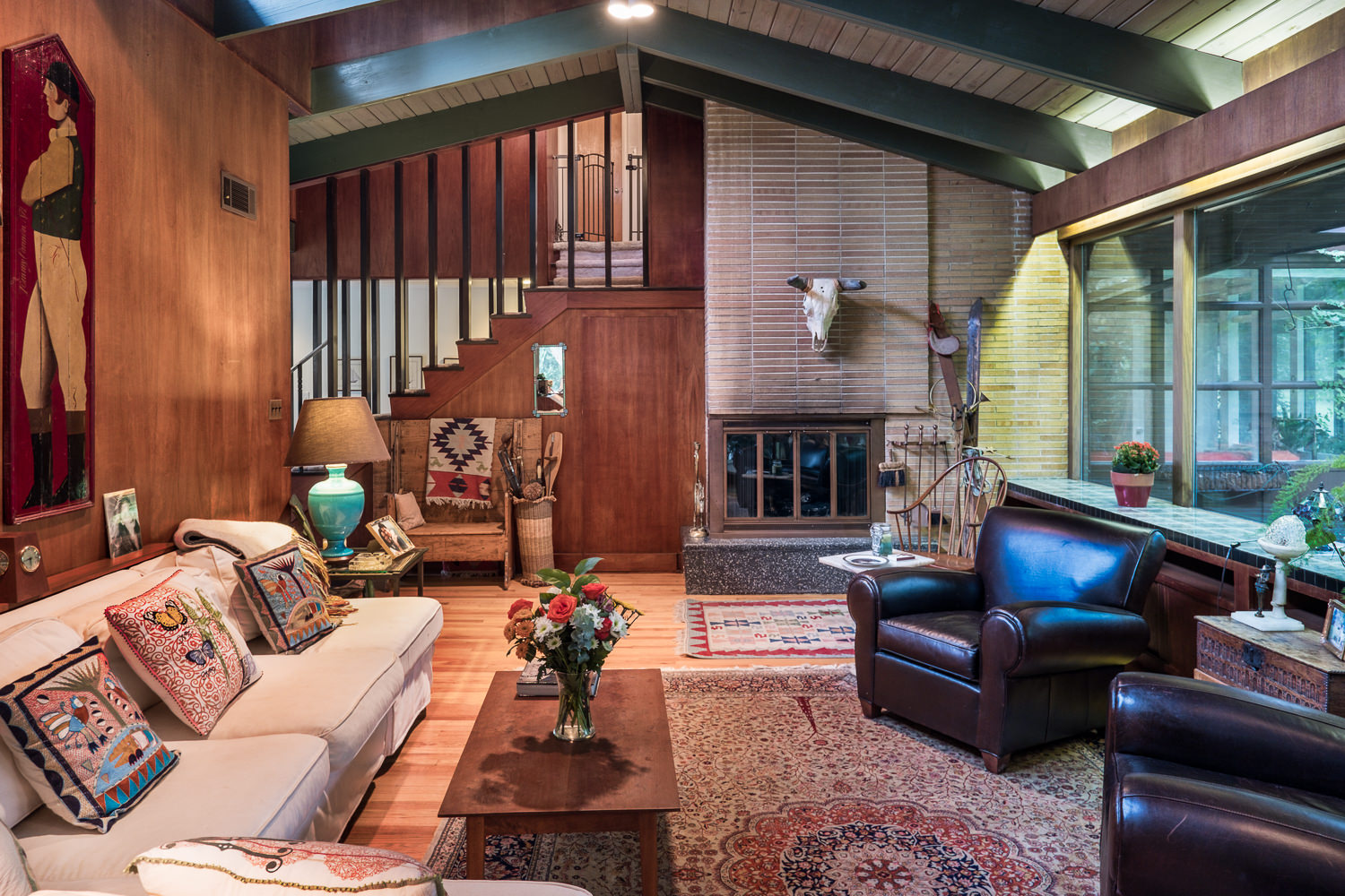 midcentury modern home hides on the main line asks 595k curbed