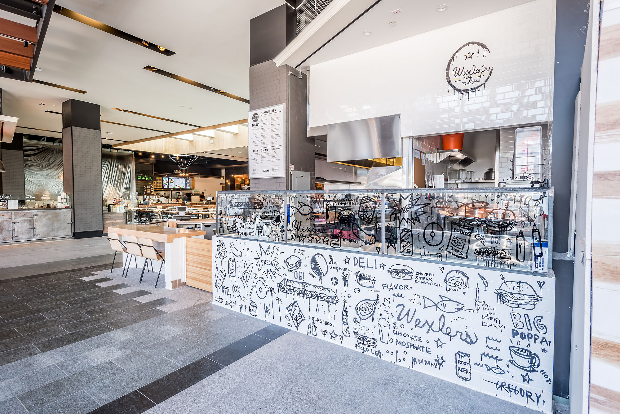 Century City Mall Food Court Los Angeles Ca