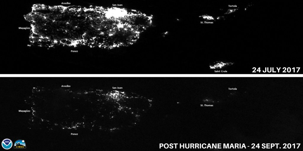 It Could Be Four To Six Months Before Power Is Fully Restored On The Island That S Half A Year With Puerto Rico S 3 4 Million Residents Relying On